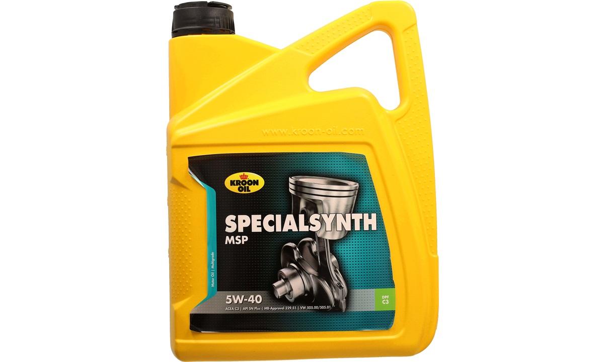 Kroon Oil Specialsynth MSP 5W/40 5 liter