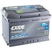 Bilbatteri - Exide Premium EA770 - 77 Ah