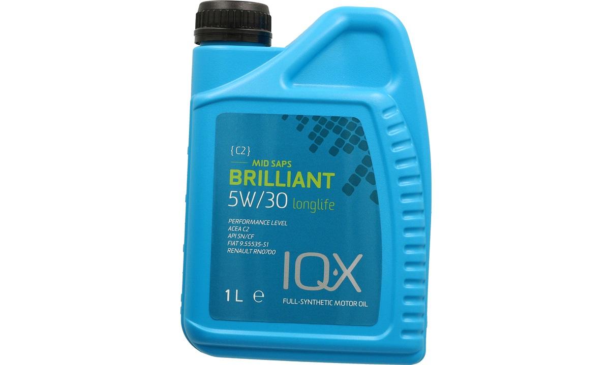 IQ-X Brilliant 5/30 motorolie C2 1 Liter