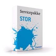 Servicepakke Stor 3 år - Keeway Euro-4