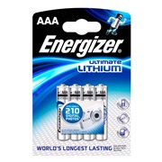 Lithium batteri AAA 4-pak Energizer