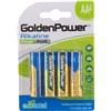 Alkaline batteri AA LR6 4-pak