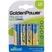 Alkaline batteri AA LR6 4-pak Tecxus
