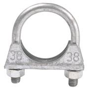 Udstødningsclamp 38 mm