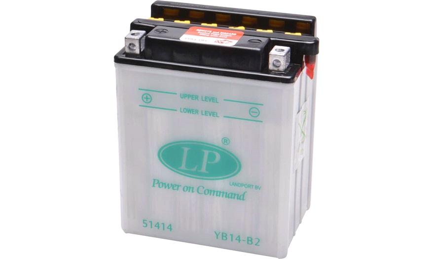 Batteri 12V-14Ah, YB14-B2, syrebatteri - 12V batteri - thansen.dk