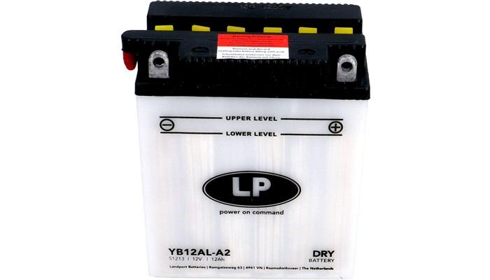 Batteri 12V-12Ah YB12AL-A2, XV535 87-99 - Batteri - thansen.dk