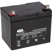 Batteri 12V-33Ah LPC12-33, vedl.frit