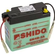 Batteri 6N4B-2A SHIDO