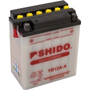 Batteri YB12A-A SHIDO