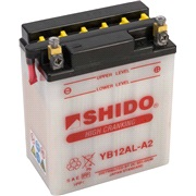 Batteri YB12AL-A2 SHIDO