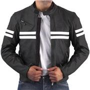 Roleff læder Edinburg sort/hvid XX-Large