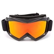 Ski/crossbriller std. gult glas, voksen