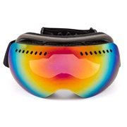 Ski/crossbriller frameless m. spejlglas
