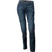 Jeans blå med kevlar DAME str. 33 Roleff