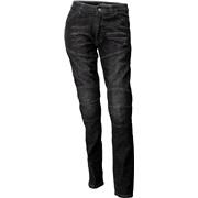 Jeans sort med kevlar DAME str 35 Roleff