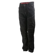 Jeans sort med kevlar Roleff str. 30