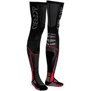 Acerbis X-leg Pro sokker, 39-41 sort/rød