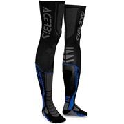 Acerbis X-leg Pro sokker, 39-41 sort/blå