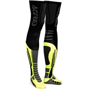 Acerbis X-leg Pro sokker, 39-41 sort/gul