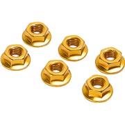 Møtriksæt 6stk guld 6mm