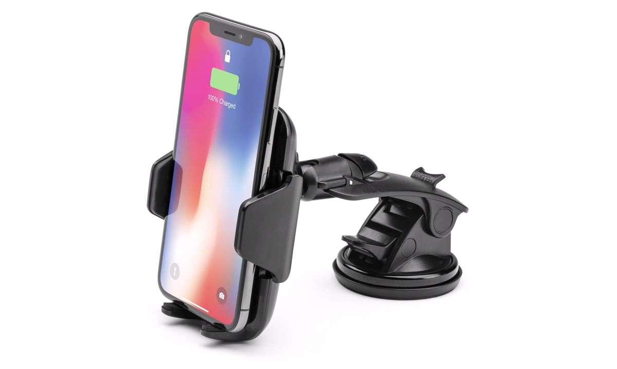 Wireless charger holder f.instrumentbord