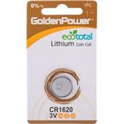 Lithium knapcellebatteri, CR1620