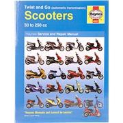 Haynes scooter rep. håndbog 50-250cc