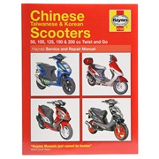Værkstedshåndbog til Kina scooter 2+4T