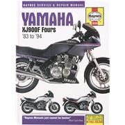 Værkstedshåndbog, Yamaha XJ900F 83-94