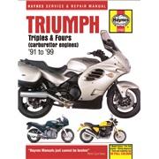 Værkstedshåndbog, Triumph 3-/4-cyl
