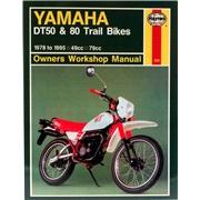 Værkstedshåndbog, Yamaha DT50/80 Trail