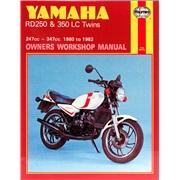Værkstedshåndbog, Yamaha RD250/350 80-82
