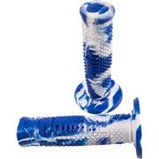 Domino Snake offroad hvid/blå 120mm