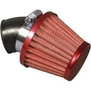 Powerfilter Ø29mm, rød, 45 grader studs