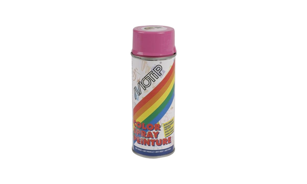 Spraymaling, Pink, Syntetisk