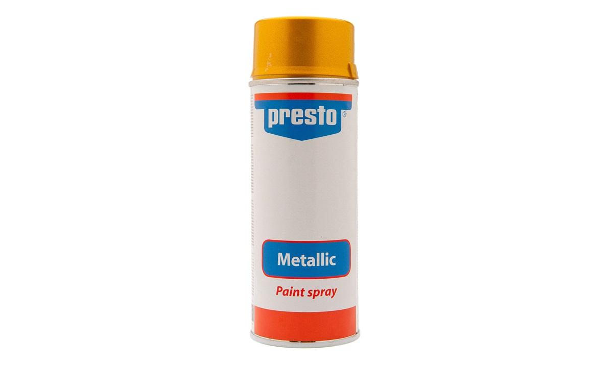Spraymaling, guldmetallic, acryl