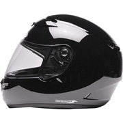 Styrthjelm ZEUS 1200 metallik sort XL