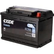 Batteri - EC700 - 70 Ah - (Exide)