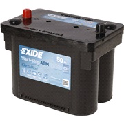 Batteri - Start-Stop AGM - (Exide)