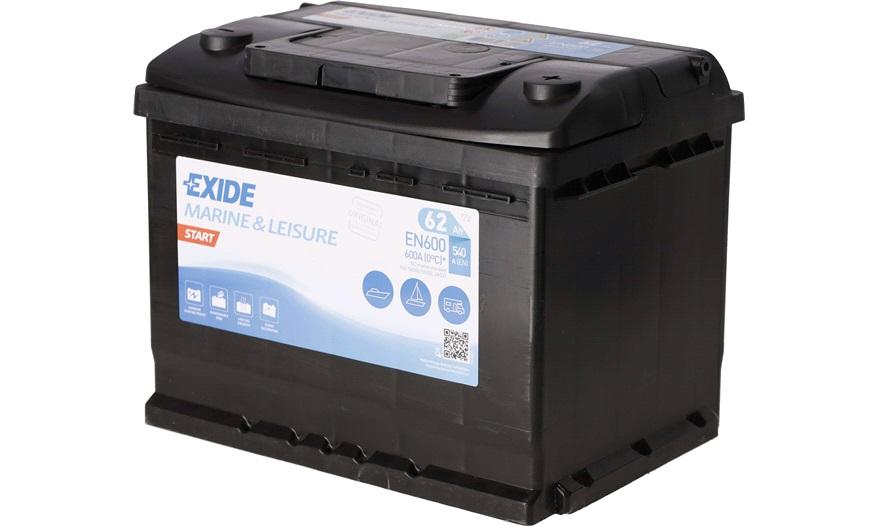 Batteri - EN600 - EXIDE START - Bilbatteri - Stort udvalg i batterier til netop din bil - thansen.dk