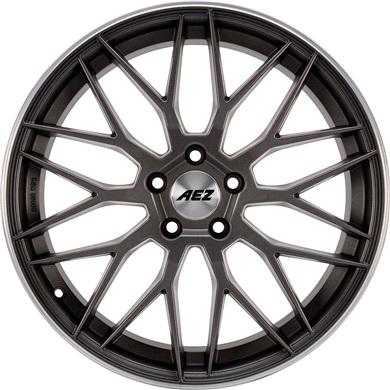 CREST Dark AEZ alufæ med dæk