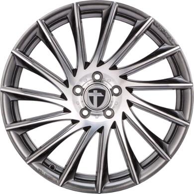 Tomason tn16 alufæ med dæk
