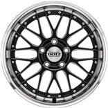 Revvo Dark DOTZ alufæ med dæk