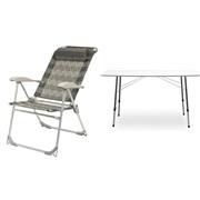 Bord & stole sæt (1 bord + 4 stole)