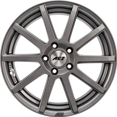 Straight Dark alufæ med dæk