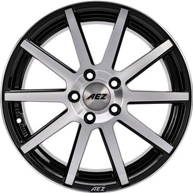 Straight AEZ alufæ med dæk
