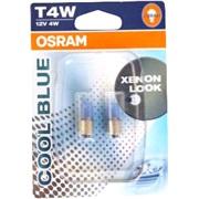 OSRAM Cool Blue T4W 12V BA9s