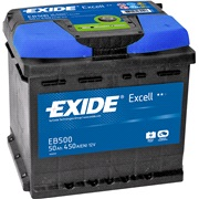 Batteri - _EB500 - EXCELL ** - (Exide)