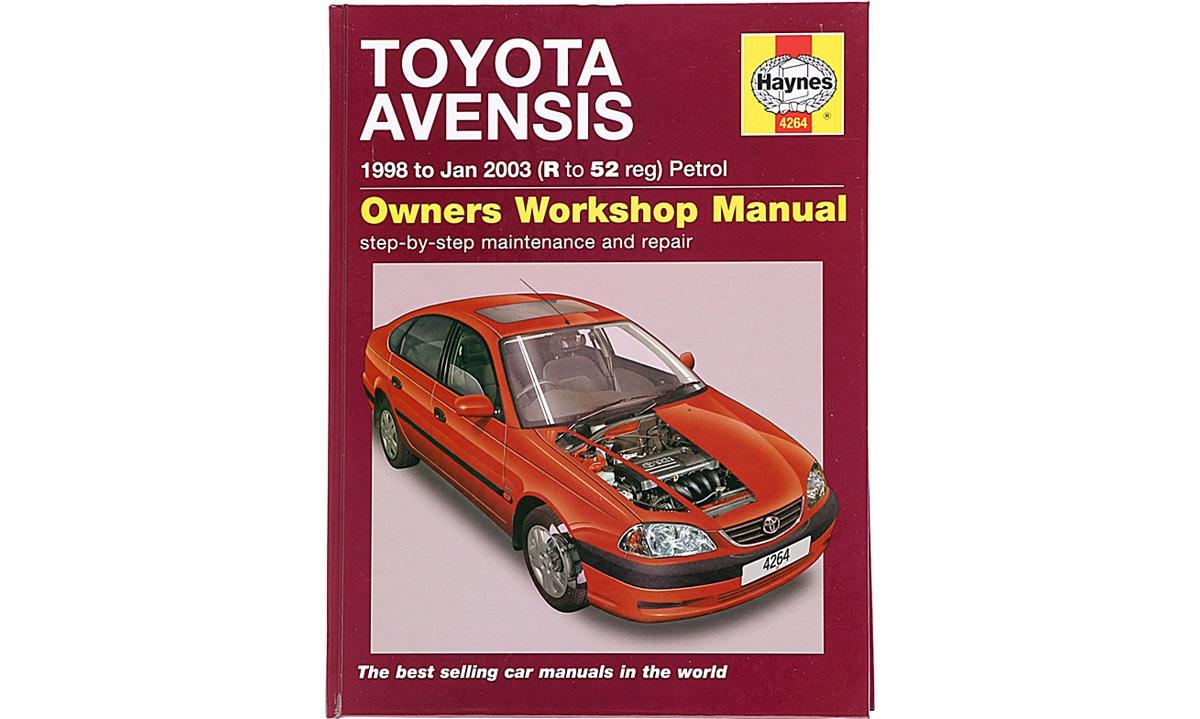 Reparasjonshåndbok Avensis I/II 9/97-3/03