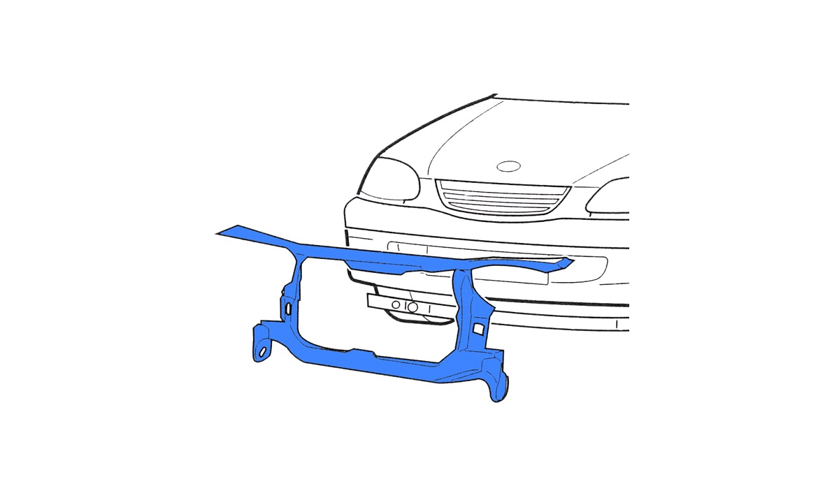 Frontplate Avensis 10/97-12/02